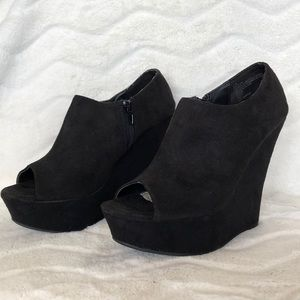 Olsenboys wedge ankle shoes